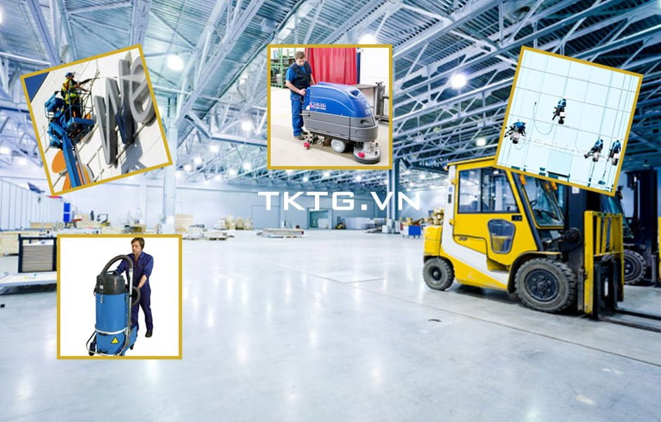 Factory Cleaning Service Safe Professional Ho Chi Minh