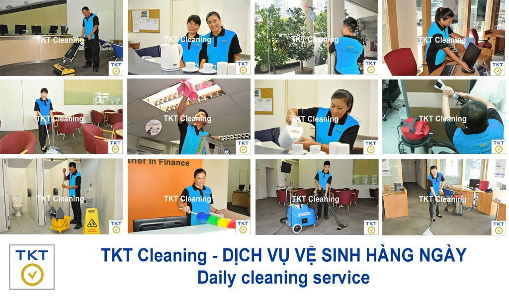 Daily Cleaning Service in Ho Chi Minh