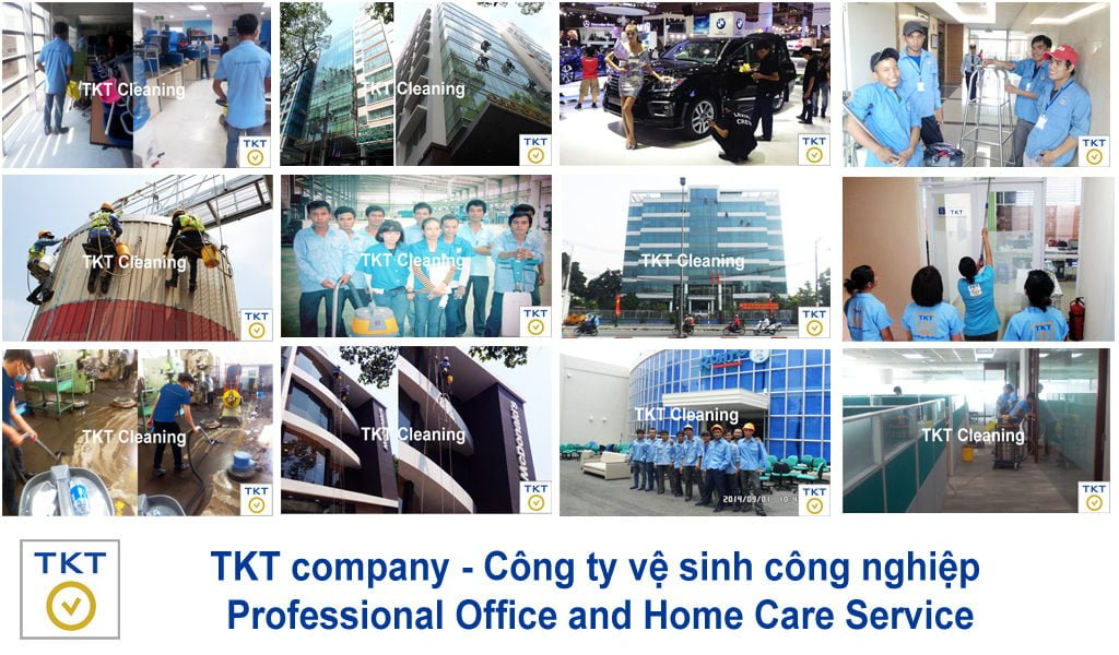 TKT Cleaning cleaning service in Vietnam