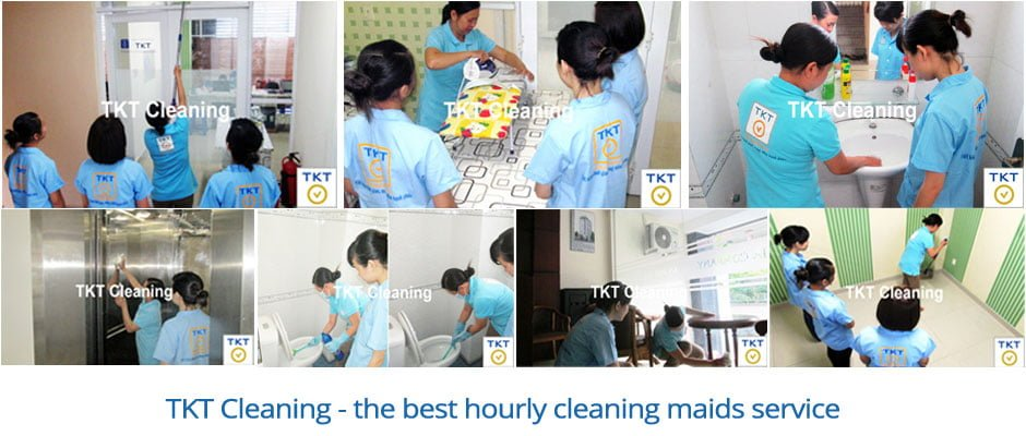 Hourly maid cleaning TKT