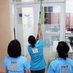 Đào tạo – vệ sinh kính