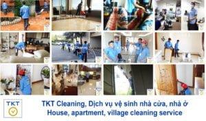 dịch vụ vệ sinh nhà cửa, nhà ở, căn hộ, biệt thự, nhà phố