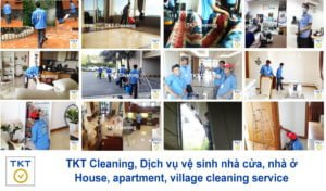 House cleaning service in Ho Chi Minh, Vietnam