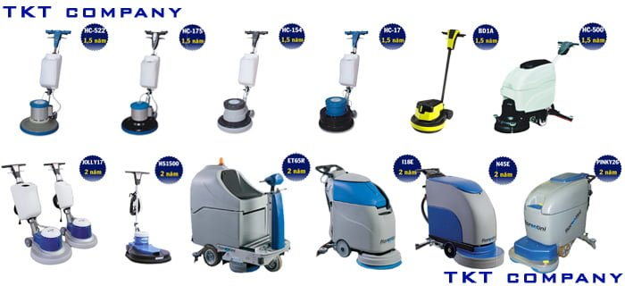 Image: scrubber machine for cleaning at factories and warehouse