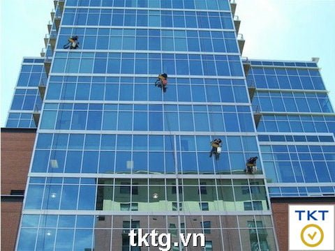 Photos: cleaning service of high-rise glass, buildings