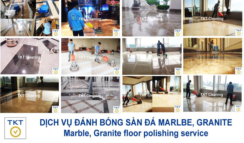 Granite Marble stone polishing service TKT Cleaning