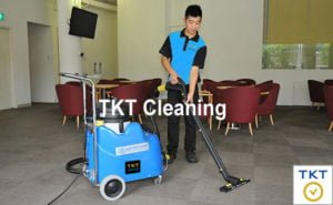 Modern equipment of prestigious carpet cleaning service in HCMC TKT Cleaning
