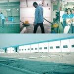 Dịch vụ tổng vệ sinh nhà xưởng sau xây dựng KH Yakin