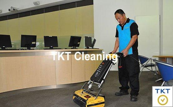 dịch vụ giặt thảm văn phòng TKT Cleaning