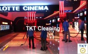 Dịch vụ vệ sinh nhà mới xây TpHCM cho khu thương mại TKT Cleaning
