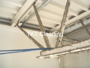factory spiderweb cleaning