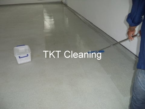 Coating by Vinyl floor sealing service TKT Cleaning