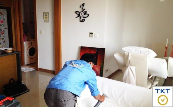 dịch vụ giặt ghế hcm cho gia đình