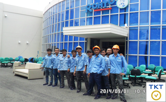 commercial cleaning service in Ho Chi Minh Viet Nam