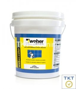keo chà ron Weber Epoxy TKT Cleaning