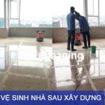 Dịch vụ vệ sinh sau xây dựng TpHCM