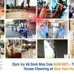 Khuyến Mại Dịch Vụ Vệ Sinh Nhà Cửa Năm Mới 2019