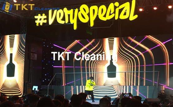 dịch vụ vệ sinh sự kiện ngoài trời âm nhạc, thời trang TPHCM
