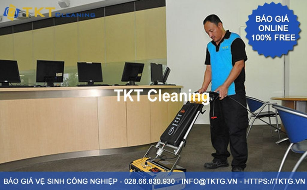 quotation of industrial / commercial cleaning service 2020 in Ho Chi Minh City - TKT Cleaning