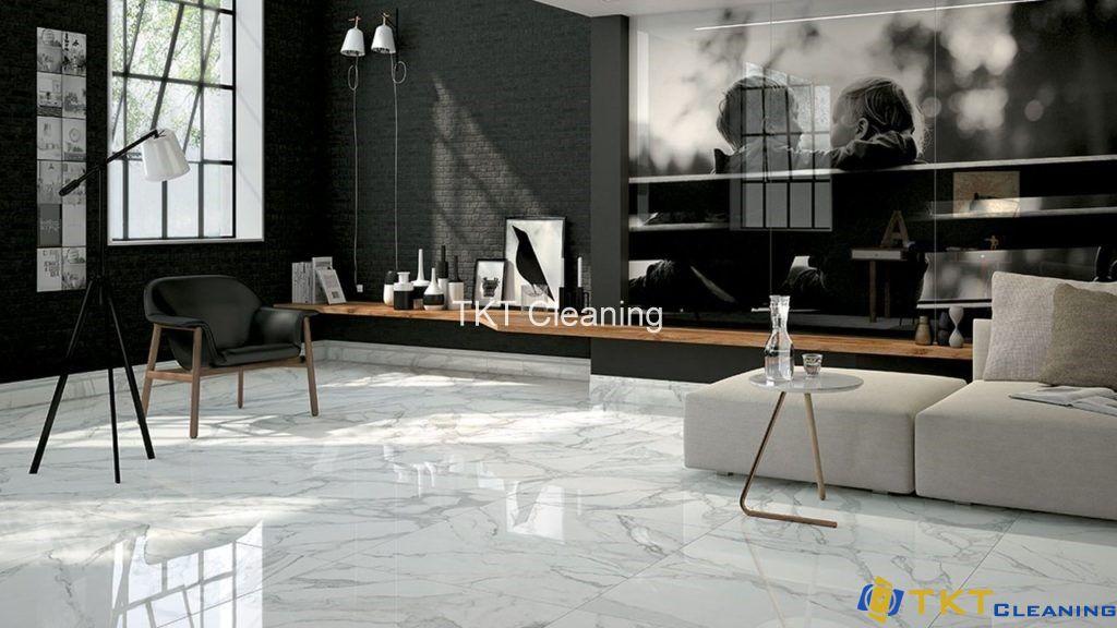 thiết kế sàn đá Marble
