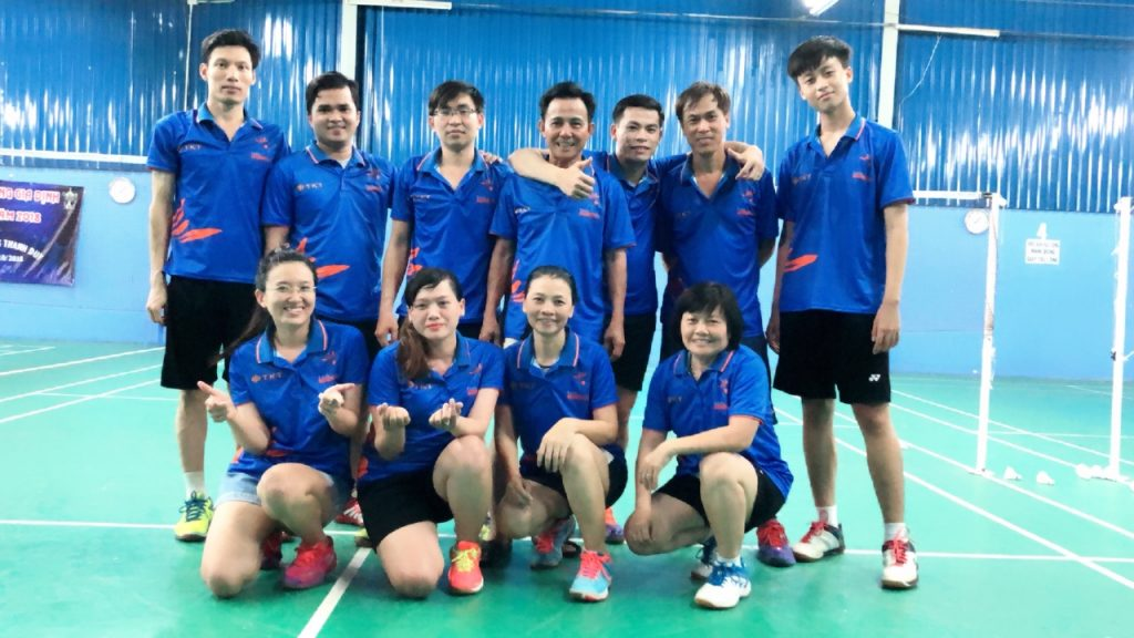 TKT Cleaning sponsors the TKT Cleaning Open badminton tournament