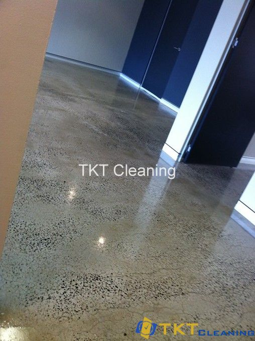 Polished office concrete floor service