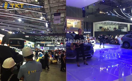 dịch vụ vệ sinh sự kiện tại TPHCM TKT Cleaning 2019