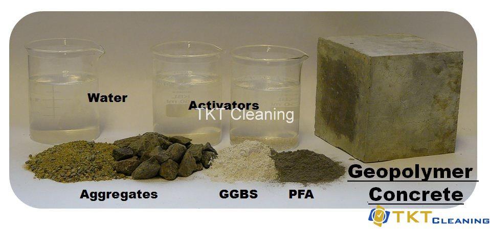 Geopolymers thay thế xi măng