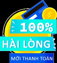 Chính sách hài lòng 100% mới thanh toán của TKT Cleaning