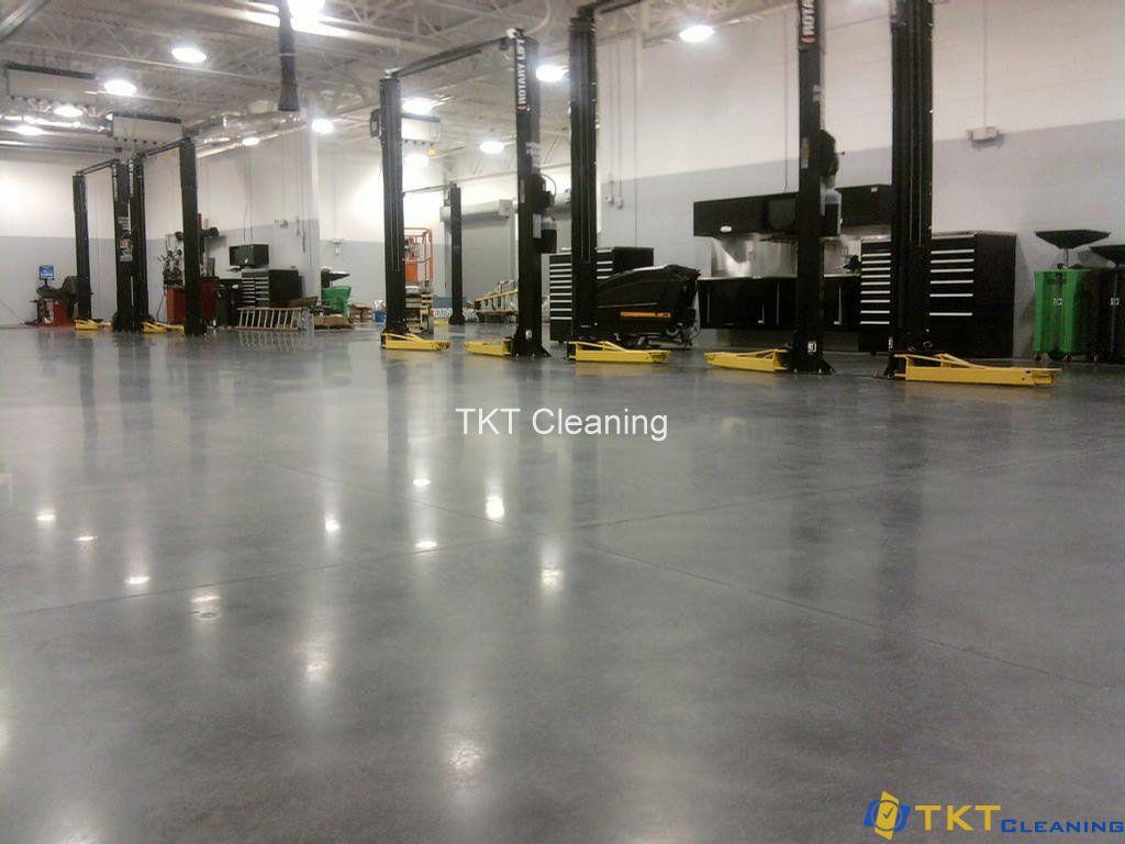 Ưu điểm sàn bê tông đánh bóng dễ vệ sinh sạch