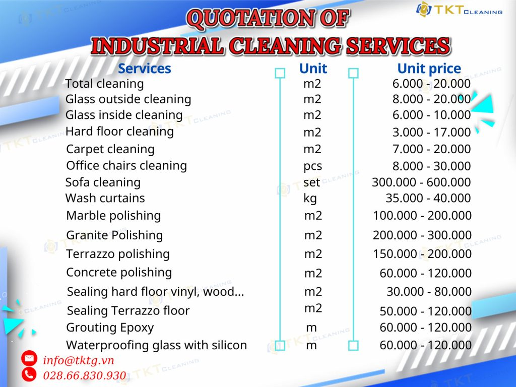 cleaning service quotation