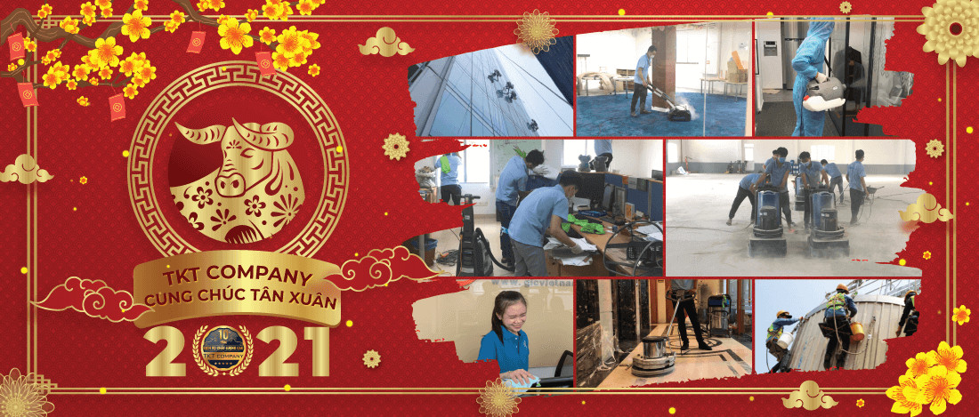 TKT Cleaning company 2021 Lunar New Year
