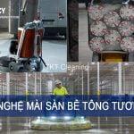 Tương lai công nghệ đánh bóng sàn bê tông như thế nào?