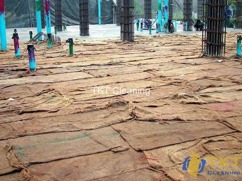 Vải giữ ẩm bảo dưỡng cho bê tông